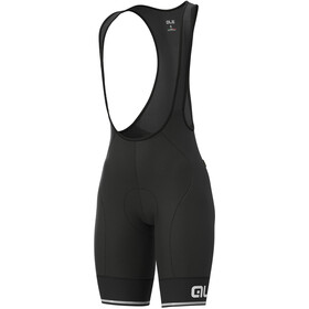 Alé Cycling Solid Blend Culotte Tirantes Mujer, black/white